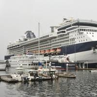 Celebrity Cruise Ship Millennium in Ketchikan, Alaska (Photo: AP)