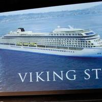 Chairman Torstein Hagen & Viking Star: Image credit Viking Ocean Cruises