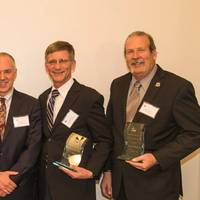 Bouchard Transportation Company, Circle Line Sightseeing Cruises, General Dynamics/American Overseas Marine Corporation, Patriot Contract Services and U.S. Shipping Corporation receive 2014 Maritime Safety Awards (Photo: AMS)