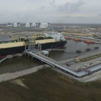 Cheniere has been a leader in U.S. LNG terminal evelopment. This file image (CREDIT: Cheniere) shows its Sabine Pass Operations.