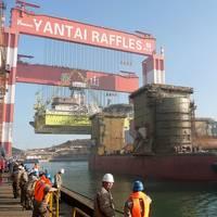 Chinese Shipyard Scene: Photo credit Wiki CCL2
