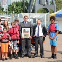Clarkson rescue boat ceremony: Photo credit Clarksons