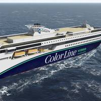 Color Line hybrid vessel for construction at Ulstein Verft Courtesy Ulstein Verft