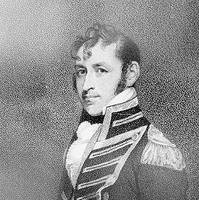 Commodore Stephen Decatur, USN. 19th Century engraving by D. Edwin, after a Gilbert Stuart portrait. (U.S. Naval Historical Center Photograph.)