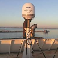 Compact and rugged, KVH's TracPhone V7-IP Ku-band VSAT system was chosen to meet growing bandwidth usage and Internet demand onboard the RHL Hamburger Lloyd tankers.