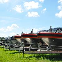 Completed vessels at Metal Shark's Jeanerette, Louisiana production facility (Photo: Metal Shark)