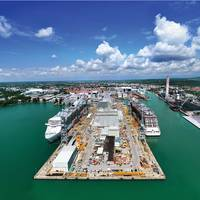 Monfalcone Shipyard. (Photo Courtesy FINCANTIERI)