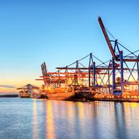 Container operations at the port of Hong Kong, one of the world's busiest. (Photo: Adobe Stock / © Marco 2811)