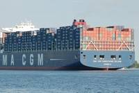 Container Ship 'Christophe Colomb': Photo credi Wiki CCL Huhu Uet