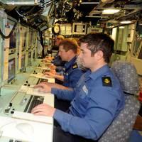 Control Room HMS Astute: Photo credit MOD