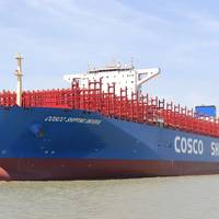 COSCO Shipping Universe (Photo courtesy ABB)
