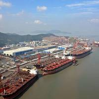 COSCO (Zhoushan) Shipyard: Image courtesy of COSCO