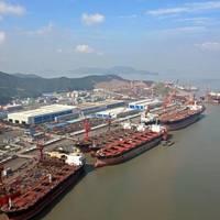 COSCO Zhoushan Shipyard: Photo COSCO