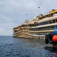 Costa Concordia, Winter 2013-14: Photo courtesy of The Parbuckling Project