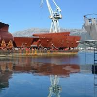 Courtesy Brodosplit  Shipyard