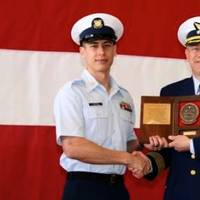Coxwain of the Year Award: Photo credit USCG