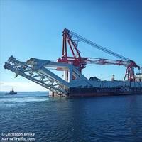 Fortuna pipelayer - Credit: Christoph Brilke/MarineTraffic.com