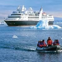 Cruise Ship 'Silver Explorer': Photo courtesy of Silversea Cruises