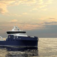 cutNVC 390 Kongsberg Maritime is to design and equip a low-emission LFC for live fish transportation specialist Sølvtrans. Image: Kongsberg Maritime