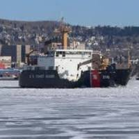 Cutter Alder off Duluth: Photo credit USCG