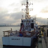 Cutter Brant: Photo courtesy of USCG
