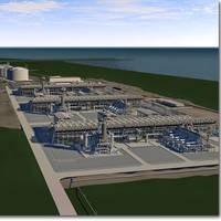Proposed liquefaction facilities (Image courtesy of Freeport LNG)