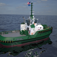 Damen ASD 2813 escort/assist vessel with 6,800 hp and 90 ton bollard pull for the U.S. market.  (Photo: Foss Maritime)