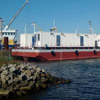Damen Water Making Barge ready for delivery to the Moroccan Navy Photo Damen