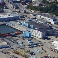 Danbors supply base in Esbjerg