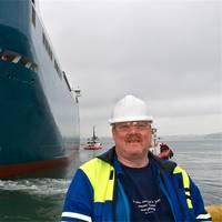 Dave Barker: Photo credit A&P Falmouth