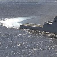 DDG 1000 Zumwalt-class Destroyer: Image credit USN