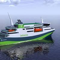 DeltaLinx ferry (Image: Deltamarin)