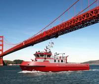 "Depiction: Jensen Design Custom ""Super Pumper"" Fireboat"
