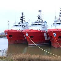 Depressed market conditions have led Vroon to recycle three of its PSVs: VOS Power, VOS Producer and VOS Prominence. (Photo: Vroon Offshore Services)