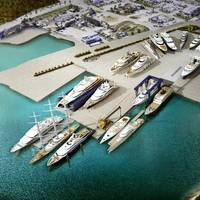 Derecktor Ft. Pierce (DFP) will be a new megayacht maintenance and refit facility in Florida, able to service both the power and sail sectors. (Image: DFP)