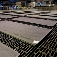 Direct quenched Raex wear-resistant steel is made in a range of thicknesses from 2 mm to 80 mm. (Photo: Ruukki Metals Oy)