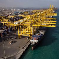 DP World currently has five terminals in Dubai, three at the flagship Jebel Ali Port. Photo Credit: DP World