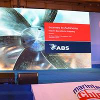 Dr. Kirsi Tikka, ABS Executive Vice President for Global Marine, discussed the marine industry's journey to autonomy at the 2017 Marintec China conference in Shanghai (Photo: ABS)