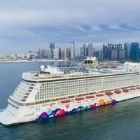 Dream Cruises' World Dream arrives in Singapore (Photo: Dream Cruises)