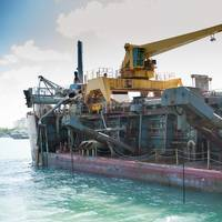 Dredger in PortMiami (Photo: Port Miami)