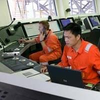 Drilling Control Centre: Image courtesy of Kongsberg