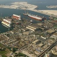 Drydocks World Dubai Shipyard: Photo credit Drydocks World