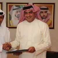 Dubai Maritime City Development Sign-up: Photo credit Maritime World Dubai
