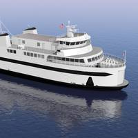 EBDG Designed Freight-Passenger Ferry for Steamship Authority