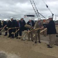 EDP groundbreaking (Photo courtesy of Mercury Marine)