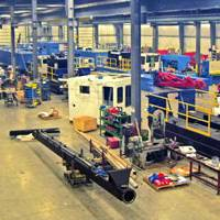 Ellicot Dredges' New Plant in Wisconsin