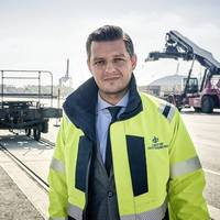 Elvir Dzanic, Gothenburg Port Authority chief executive. Photo: Port of Gothenburg