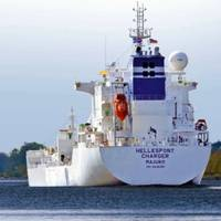 Chemical Tankship Hellespont Charger: Photo courtesy of the owners