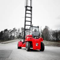 Empty Container Handler Photo Kalmar