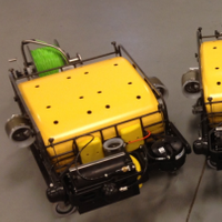 EOD HULS MK19 Systems 4 and 5 vehicles (Photo courtesy of Bluefin Robotics)